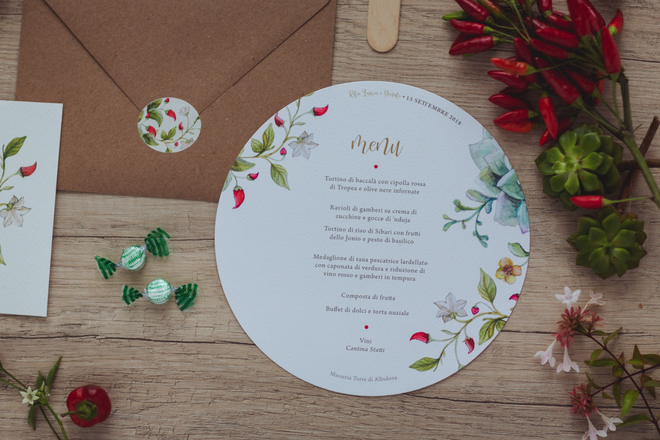 Wedding stationery • Wedsign by Scura Design