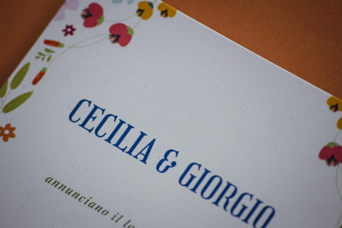 Partecipazioni nozze Primavera - Wedsign