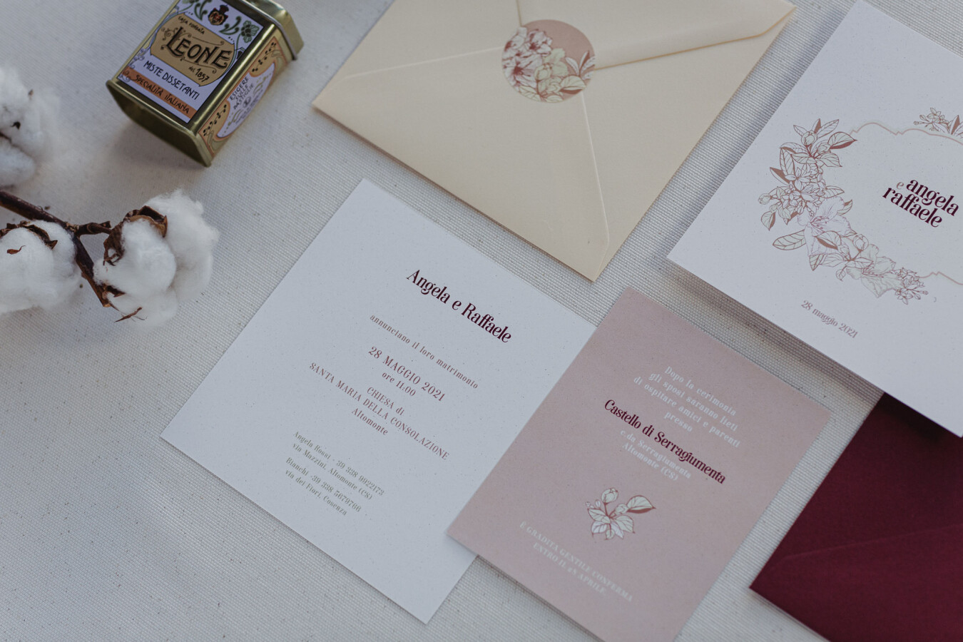 partecipazioni nozze Vintage - Wedsign