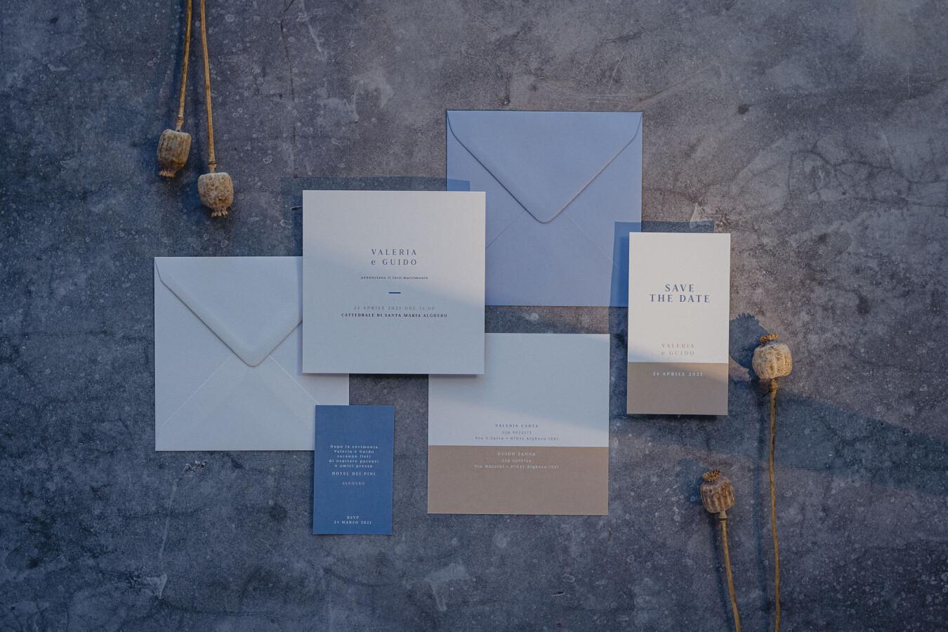 Partecipazioni nozze MINIMAL - Wedsign