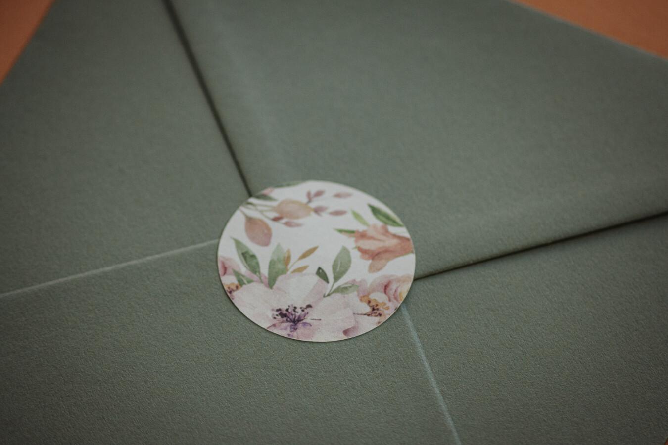 partecipazioni nozze floreale - Wedsign