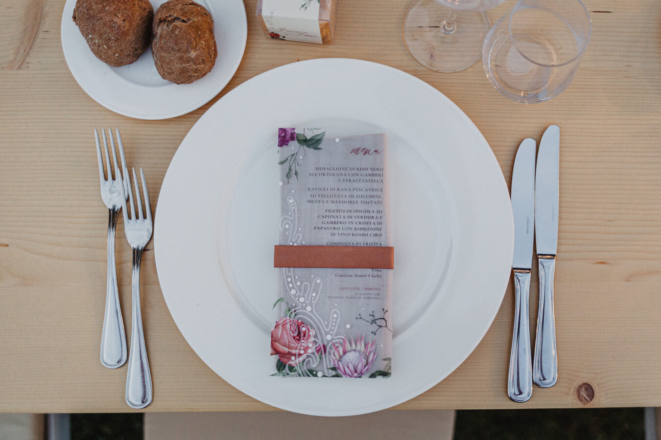 menu traslucido protea